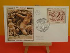 FDC - J.Bte Carpeaux, Triomphe De Flore - 59 Valenciennes - 4.7.1970 - 1er Jour, Coté 4,50 € - 1970-1979