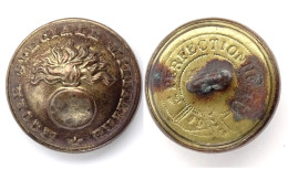 Bouton Ecole Speciale Militaire (1870-1900). 21 Mm - Boutons