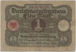 1 Mark / Eine Mark - Weimar Republic - Year 1920 - [ 3] 1918-1933 : Weimar Republic