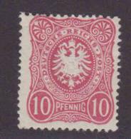 DR MiNr. 41Ia * Gepr. - Allemagne