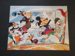 ANGUILLA -  BF 1984 OLIMPIADI/TOPOLINO  - NUOVO(++) - Anguilla (1968-...)