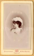 Photo-carte De Visite / CDV / Femme / Woman / Elegant / Photo Dupont / Bruxelles / Belgique - Photos