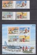 New Zealand 1984 Antarctic Research 4v (+margin) + M/s ** Mnh (31112A) - New Zealand