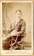 Photo-carte De Visite / CDV / Jeune Femme / Young Woman / Elegant / Photo George Downes / Bedford / England - Photos