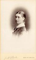 Photo-carte De Visite / CDV / Jeune Femme / Young Woman / Elegant / Photo J. W. Clarke / Bury St. Edmunds / England - Fotos