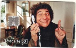 """Télécarte 50 - Christian CLAVIER Dans """"Les Couloirs Du Temps - Les Visiteurs"""" De 1998 - Film"""
