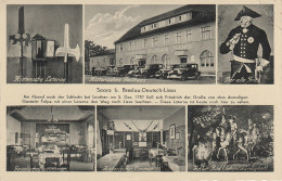 AK Saara Zar Historisches Gasthaus Bei Deutsch Lissa Lesnica Breslau Wroclaw Fabryczna Friedrich Grosse Fritz Leuthen - Schlesien