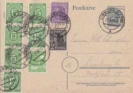 Gemeina. GS Zehnfachfr. Mif Minr.6x 922,943,944,946 Limburg 22.6.46 - Gemeinschaftsausgaben