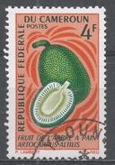 Cameroun 1967, Scott #463 Fruits: Breadfruit (U) - Cameroun (1960-...)