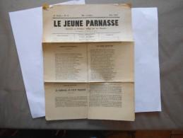 LE JEUNE PARNASSE LITERAIRE & POETIQUE  N° 6 JUIN 1881 - Poésie