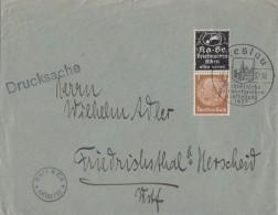 DR Brief Mit Zdr. Ka-Be SST Breslau 9.1.37 - Briefe U. Dokumente