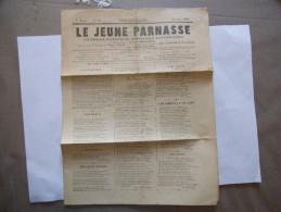 LE JEUNE PARNASSE JOURNAL POETIQUE MUSICAL & LITTERAIRE POETIQUE  N° 10 OCTOBRE 1884 - Poésie