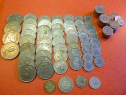 Lot De Monnaies Suisses Récentes Dont 4 Argent Valeur = 90 Francs Suisses - Suisse