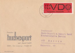 DDR Brief ZKD EF Minr.3 Leipzig 8.4.68 - Dienstpost