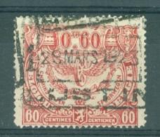 """BELGIE - OBP Nr TR 109 - Cachet  """"NORD-BELGE - LUSTIN 1"""" - (ref. AD-5079) - 1915-1921"""