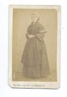 RARE Ancienne Véritable Photo CDV Circa 1870 De BILLARD- PERRIN à PAU (64): Bernadette SOUBIROUS.. NOTRE DAME De LOURDES - Old (before 1900)
