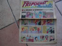 """FRIPOUNET ET MARISETTE   N° 5  """" L´ECHO D´ENFER """"   -  FLEURUS  JANVIER 1949 - Fripounet"""