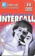 CARTE-PREPAYEE-INTERCALL- 50FFEMME-PHOTO-31/12/2002-TBE - Autres Prépayées