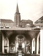 Diepenbeek :  Kerk St. Servatius --- Binnen-en Buitenzicht -----2 Kaarten - Diepenbeek