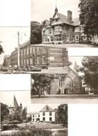 Diepenbeek :  Rustoord -- Klooster --- Kerk -- Kasteel -----4 Kaarten - Diepenbeek