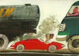 Gefangen Auf Der Autobahn                  1967 - Cartes Postales