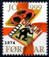 FEROE  Cinderella MNH**  Charlie Chaplin Charlot Movies Movie Cinéma - Cinema