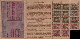 RATIONNEMENT - Ticket D´ALIMENTATION   1948 France Revenues   (W4_3074) - Historische Documenten