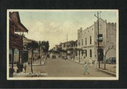 Tanzania Tanganyika Old Acacia Avenue Dar Es Salaam Picture Postcard View Card - Tanzania