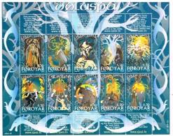 ILE FEROE /Oblitérés/Used/2003 - Mythologie Nordiques - Faroe Islands