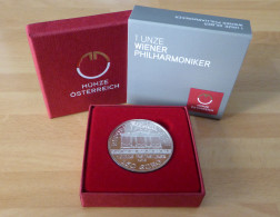 "2015 AUSTRIA ""VIENNA PHILHARMONIC 2015"" 1,5 EURO AG FDC - Autriche"