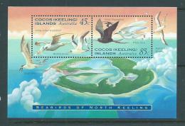Cocos Keeling Island 1995 Seabirds Miniature Sheet MNH - Cocos (Keeling) Islands