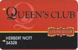 Casino Queen - East St. Louis, IL - Slot Card - No (R) Registration Mark In Logo - Casino Cards
