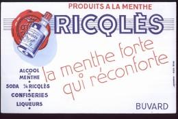 B076 -  BUVARD - RICQLES - Liquor & Beer