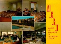 83-LA CADIERE D'AZUR..M.G.E.T. MAISON DE VACANCES ..5 VUES...CPM - Otros Municipios