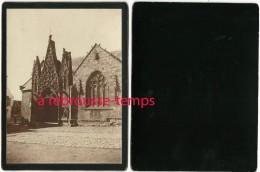 BRETAGNE-en 1903-porche D'église-cartonnée Format 12x 8,8cm TB état - Antiche (ante 1900)