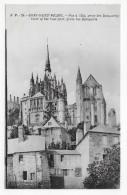 LE MONT ST MICHEL - N° 24 - VUE A L' EST PRISE DES REMPARTS - CPA NON VOYAGEE - Le Mont Saint Michel