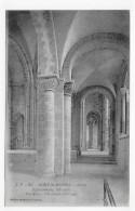 LE MONT ST MICHEL - N° 53 - ABBAYE - EGLISE ROMANE DU XIe SIECLE - CPA NON VOYAGEE - Le Mont Saint Michel