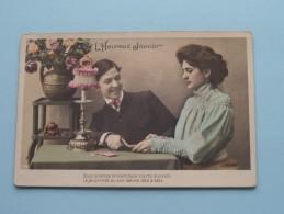 L'Heureux Joueur ( 4 CP / PK ) Anno 19?? ( Zie Foto Details ) !! - Playing Cards