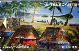 @+ Wallis - WF4 - Paysage Wallisien En SC5 (1993) - N° Serie 41319 - Wallis And Futuna