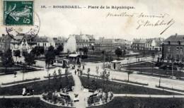 59 ROSENDAEL Place De La Republique  Animée Tramway Petit Plan - France