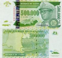 ZAIRE       500,000 Nouveaux Zaïres       P-78a       25.10.1996       UNC  [ 500000 ] - Zaïre