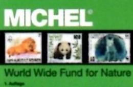 WWF MICHEL Erstauflage Tierschutz 2016 ** 40€ Topic Stamp Catalogue Of World Wide Fund For Nature ISBN 978-3-95402-145-1 - Phonecards