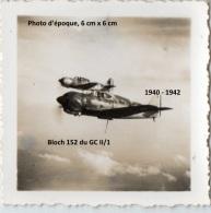 Photo  Originale Armée De L´Air Avion Militaire Français Bloch 152 Années  1939 - 1940 - Aviazione