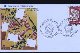 GUEMENE JOURNEE DU TIMBRE 1974 ENVELOPPE - Guémené-Penfao