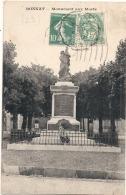 -23- BONNAT  Monument Aux Morts  TTB - France