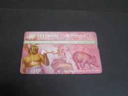 PAPUA 1997 50u Pig Killing;