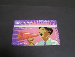 PAPUA 1997 5u Campaign; - Papua New Guinea