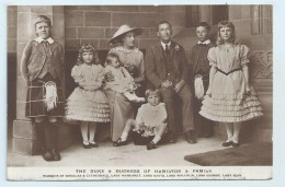 Duke Of Hamilton - Family Group - Other Famous People