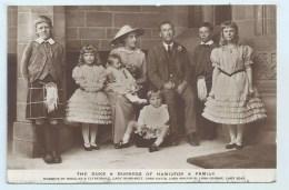 Duke Of Hamilton - Family Group - Famous People
