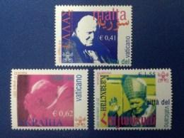 2002 VATICANO FRANCOBOLLI NUOVI STAMPS NEW MNH** - Viaggi Di Papa Giovanni Paolo II Nel 2001 - - Vaticano